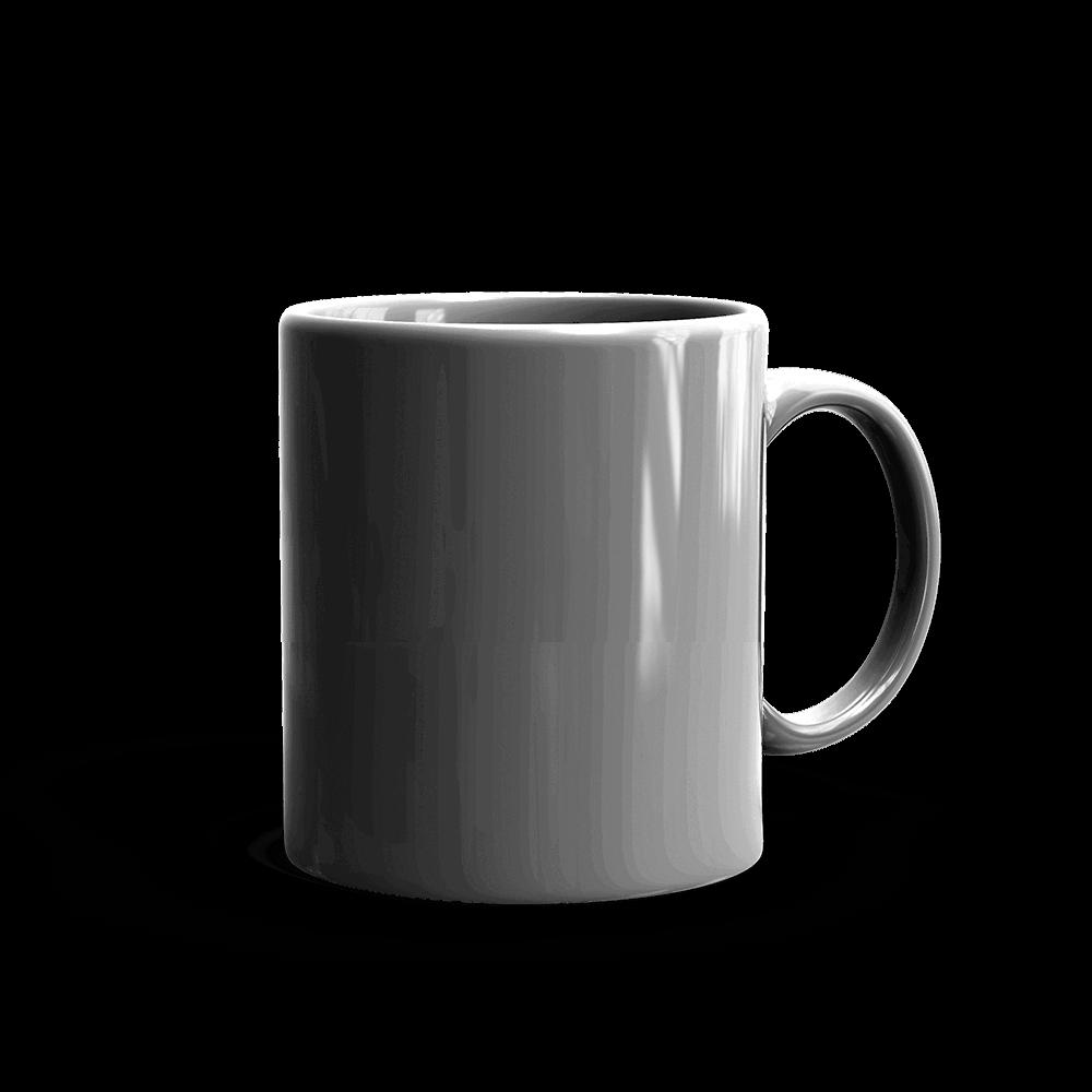 Mug clipart grey coffee. White glossy mockup generator