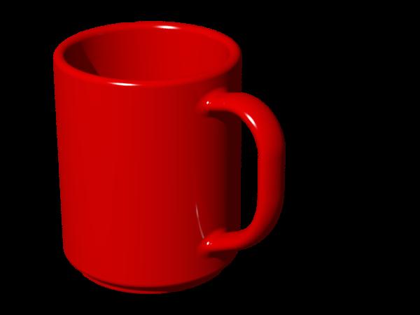 Mug clipart hard object. Coffee