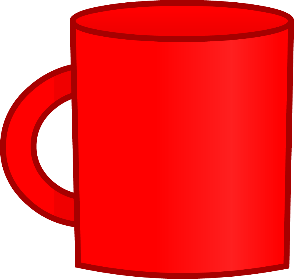 Image new cup body. Mug clipart one object