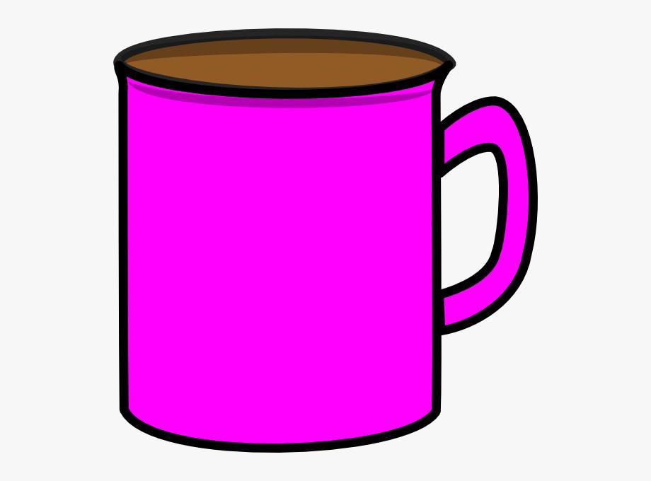 Purple transparent cartoon . Mug clipart pink mug