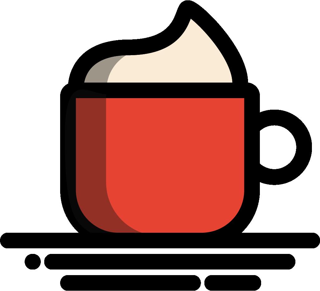 Monetizedesign rails tea scaffold. Mug clipart plain red