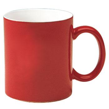 Mug clipart plain red.  oz c handle