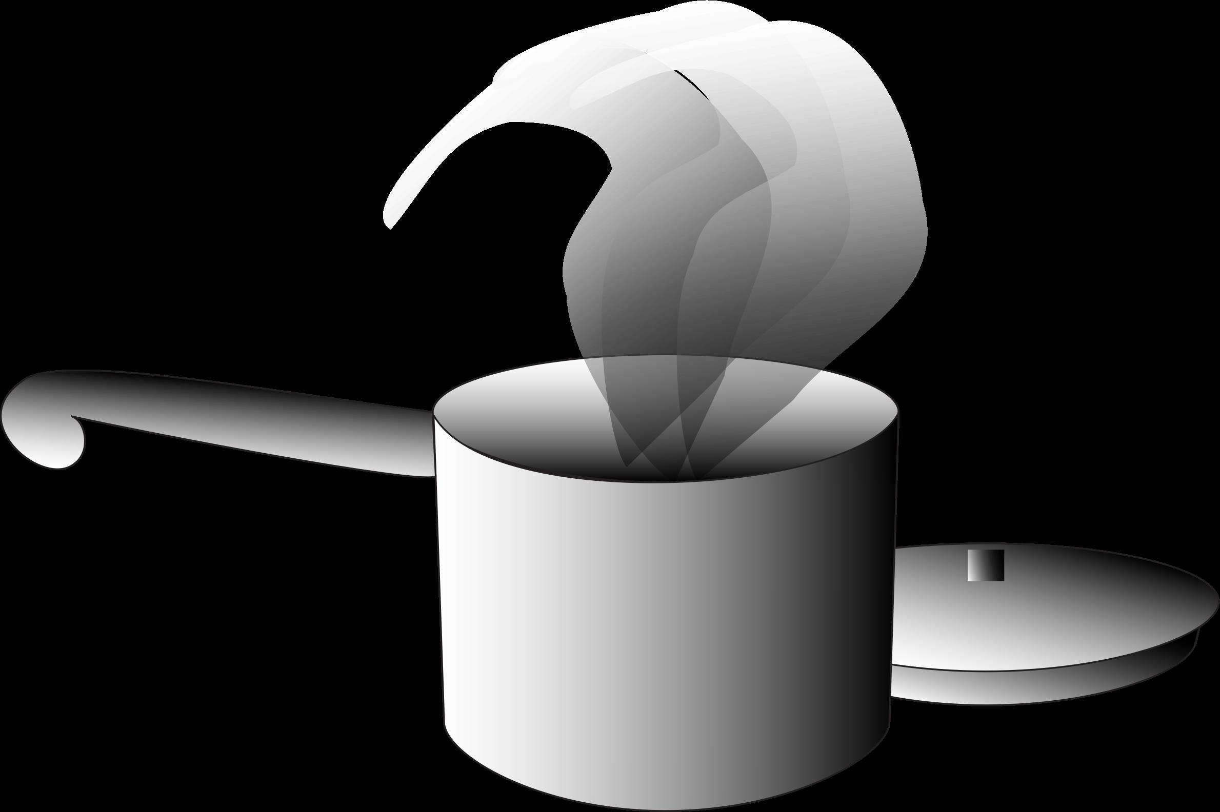 Mug clipart steam clipart. Casserole avec couvercle pot