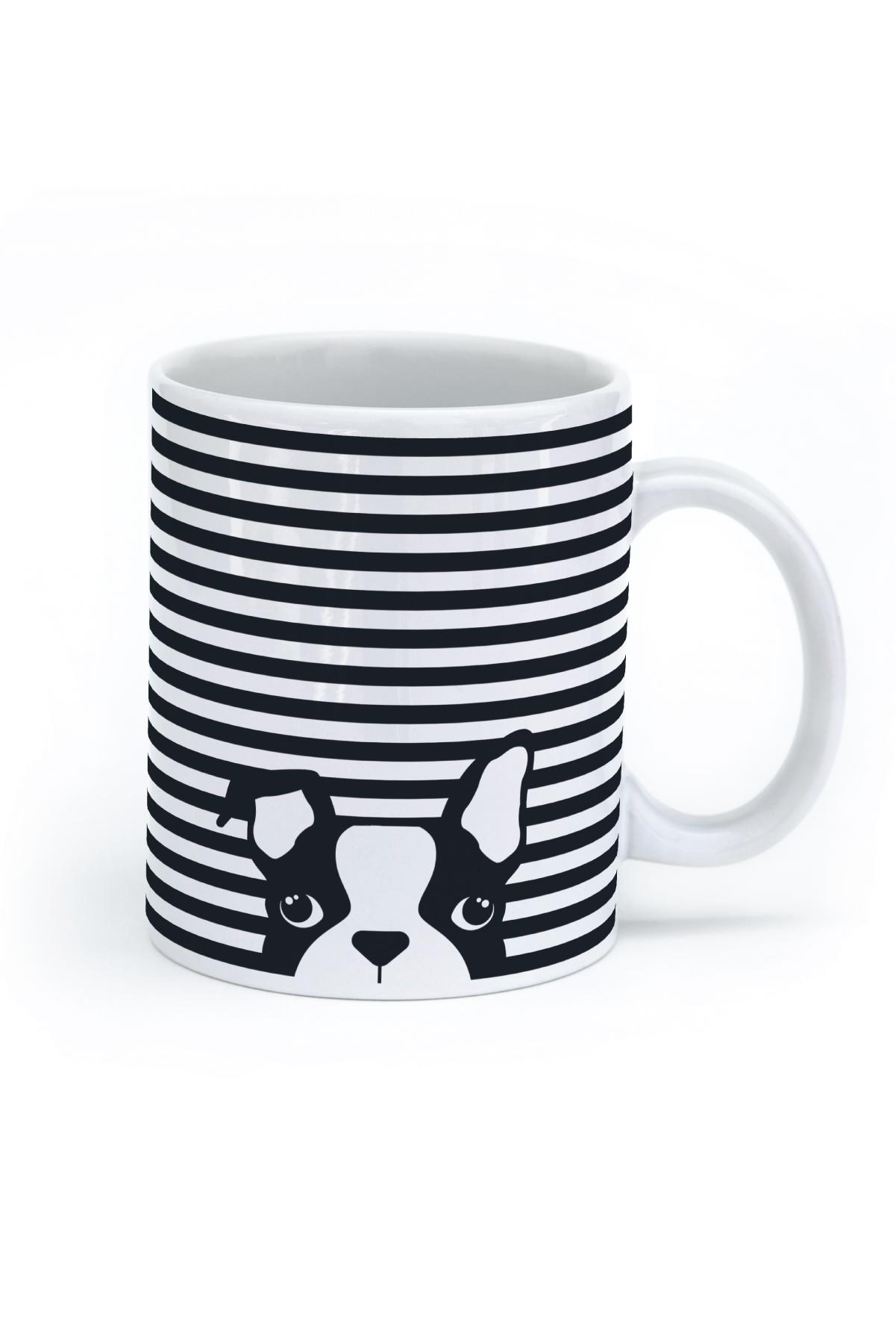 Mug clipart striped. Seltzer goods dog stripe