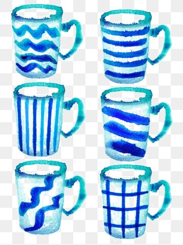 Cup png vector psd. Mug clipart striped