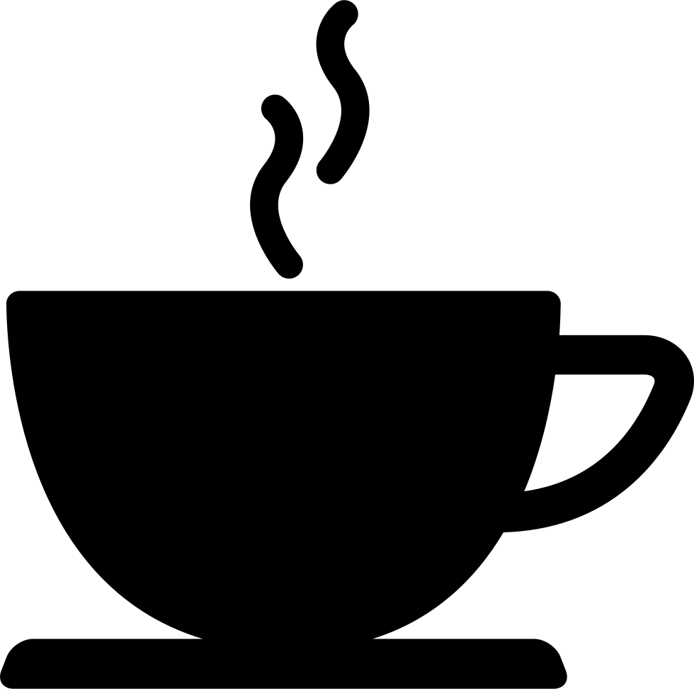 Mug clipart tall coffee cup. Of hot drink black