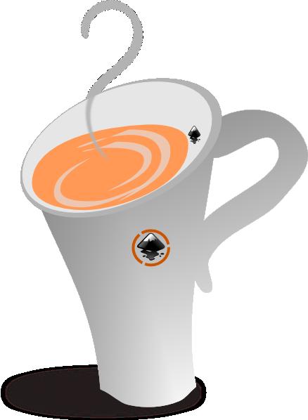 Clip art at clker. Mug clipart tall coffee cup