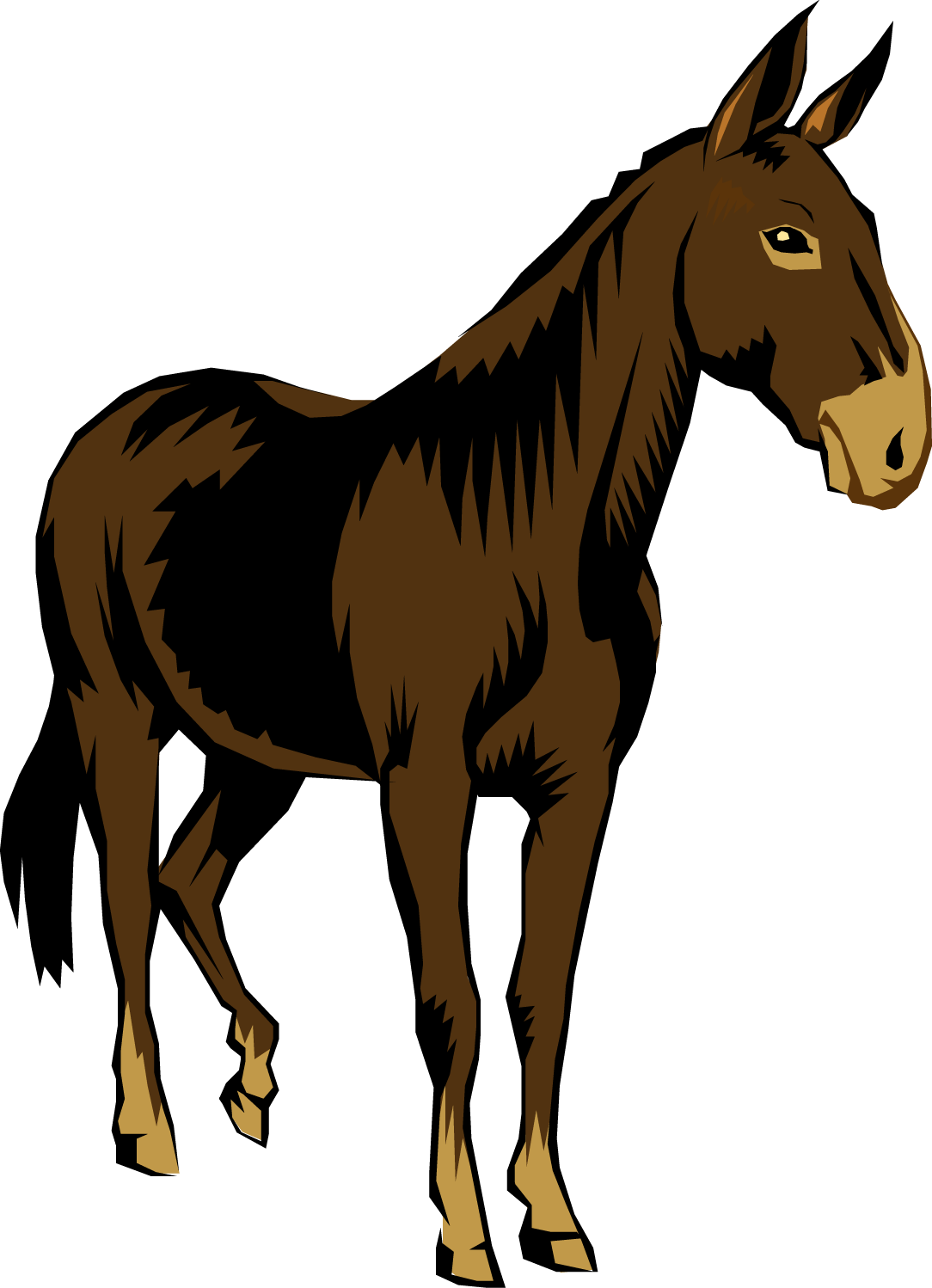 Mule clipart. Horse running at getdrawings