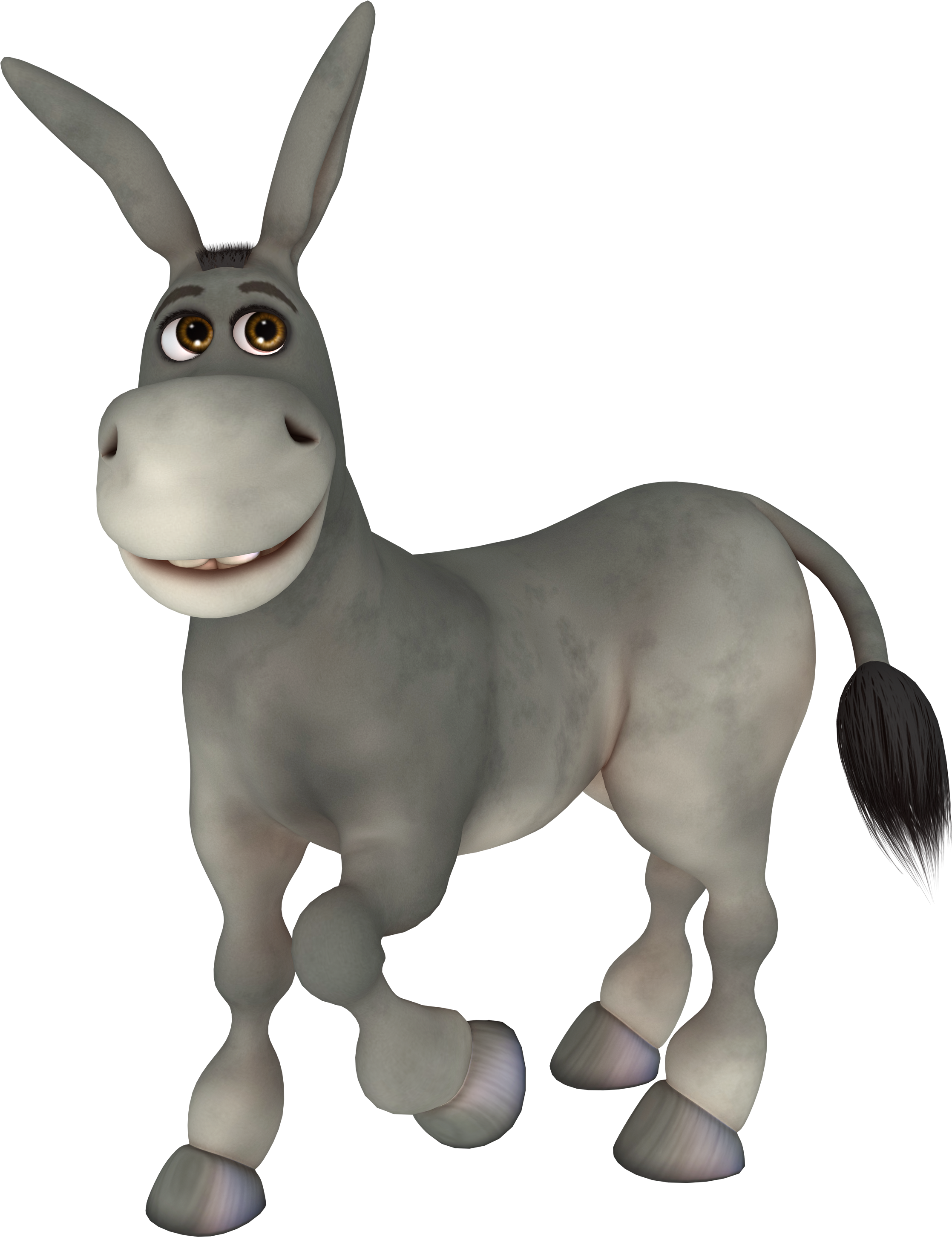 Mule clipart animated. Png stock cartoon transprent