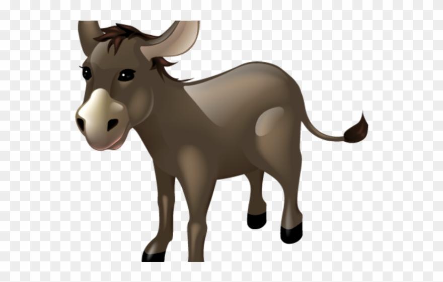 Donkey clip art transparent. Mule clipart cartoon