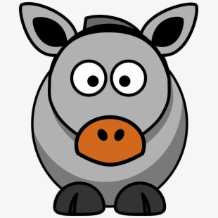 Mule clipart cartoon. Free donkey cliparts silhouettes