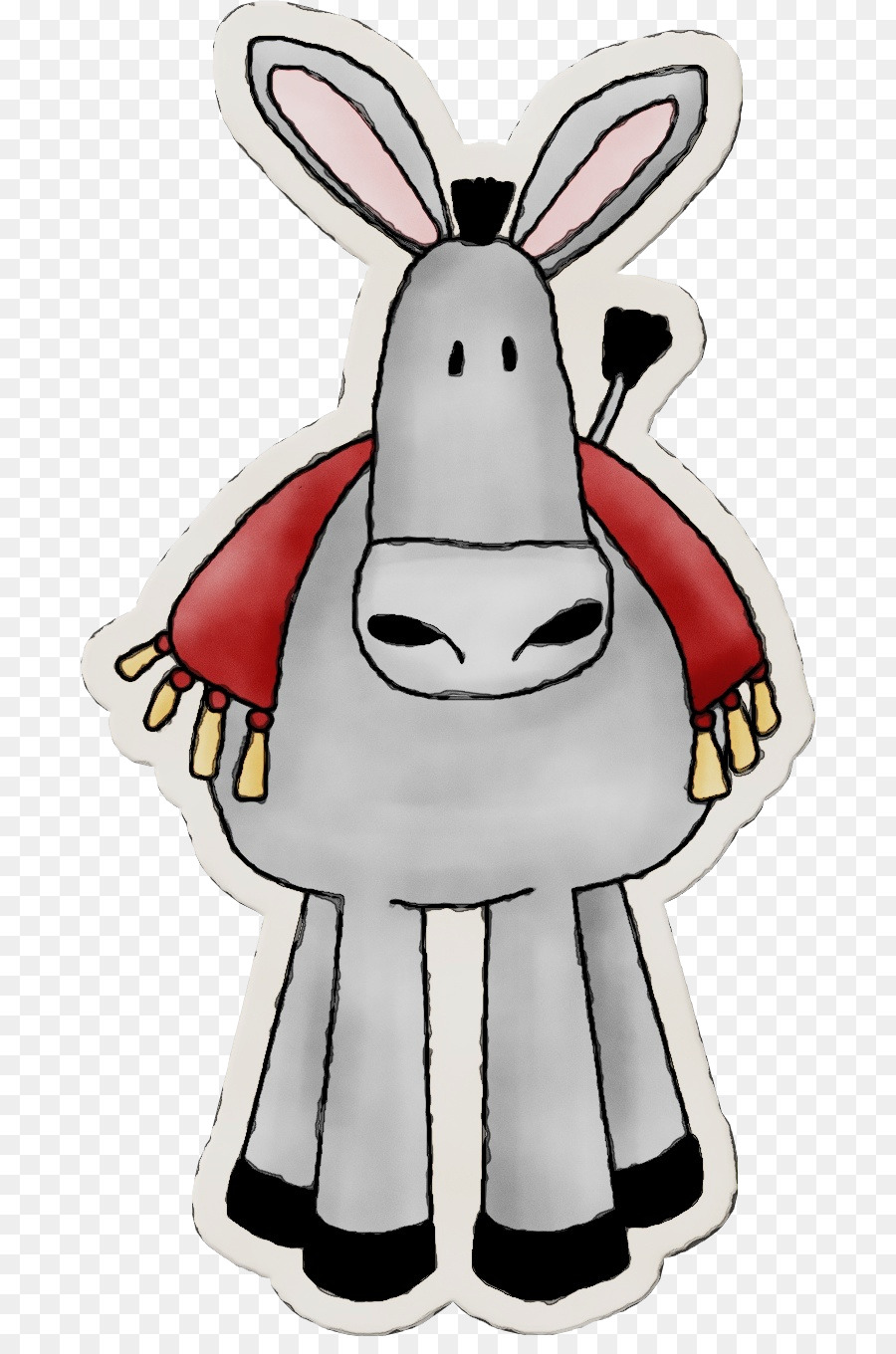 Mule clipart palm sunday. Donkey