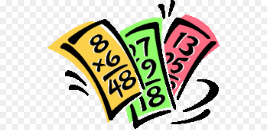 Multiplication clipart. Mathematics flashcard clip art