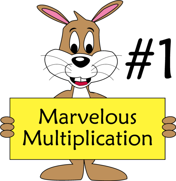 multiplication clipart 1to