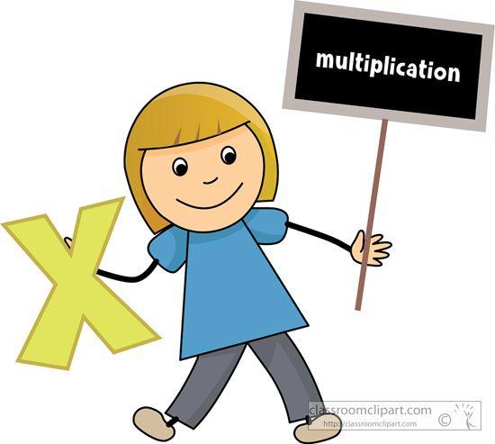 Sign keretek k pek. Multiplication clipart