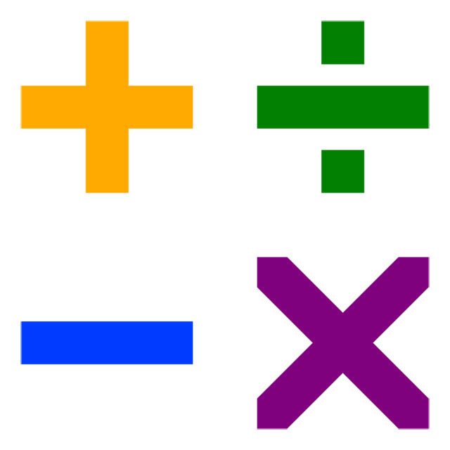 Arithmetic symbols math pictures. Multiplication clipart additional mathematics