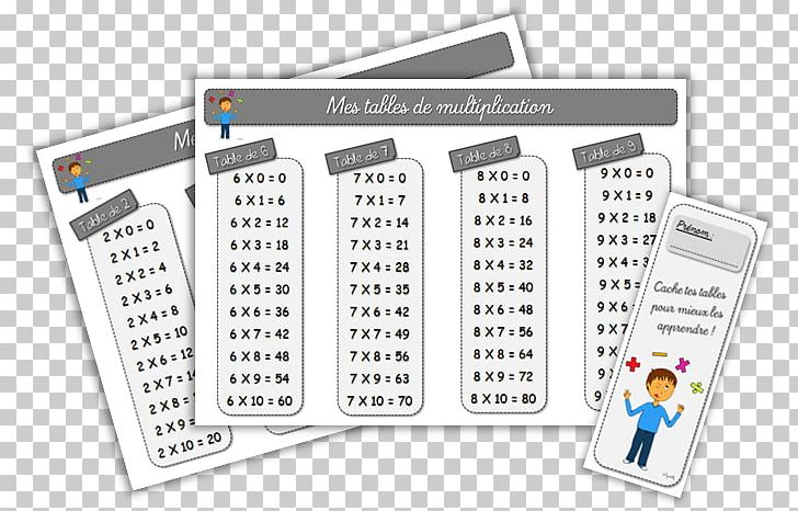 Table mathematics png . Multiplication clipart calculation