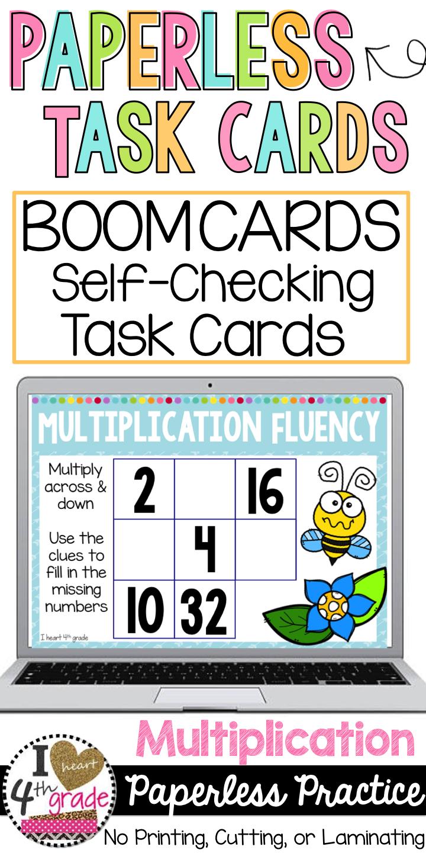 Boom cards my math. Multiplication clipart grade 6