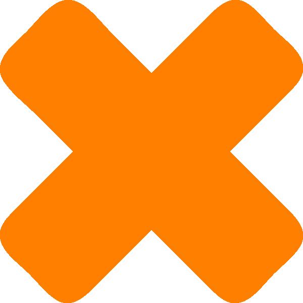 X cross clip art. Multiplication clipart icon