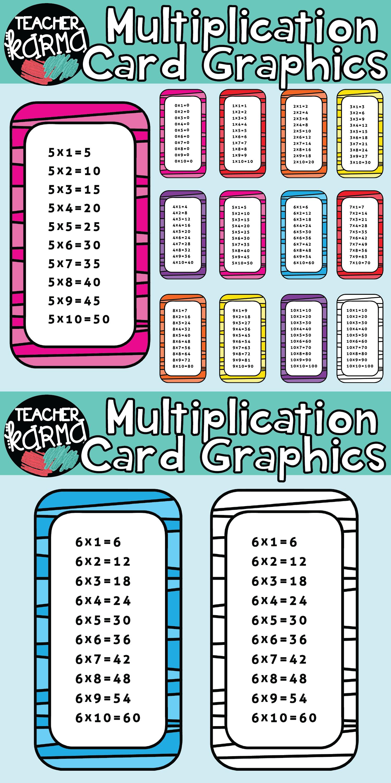 Multiplication clipart math education. Times tables thirdgradetroop com
