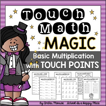 Touch basic with points. Multiplication clipart math magic