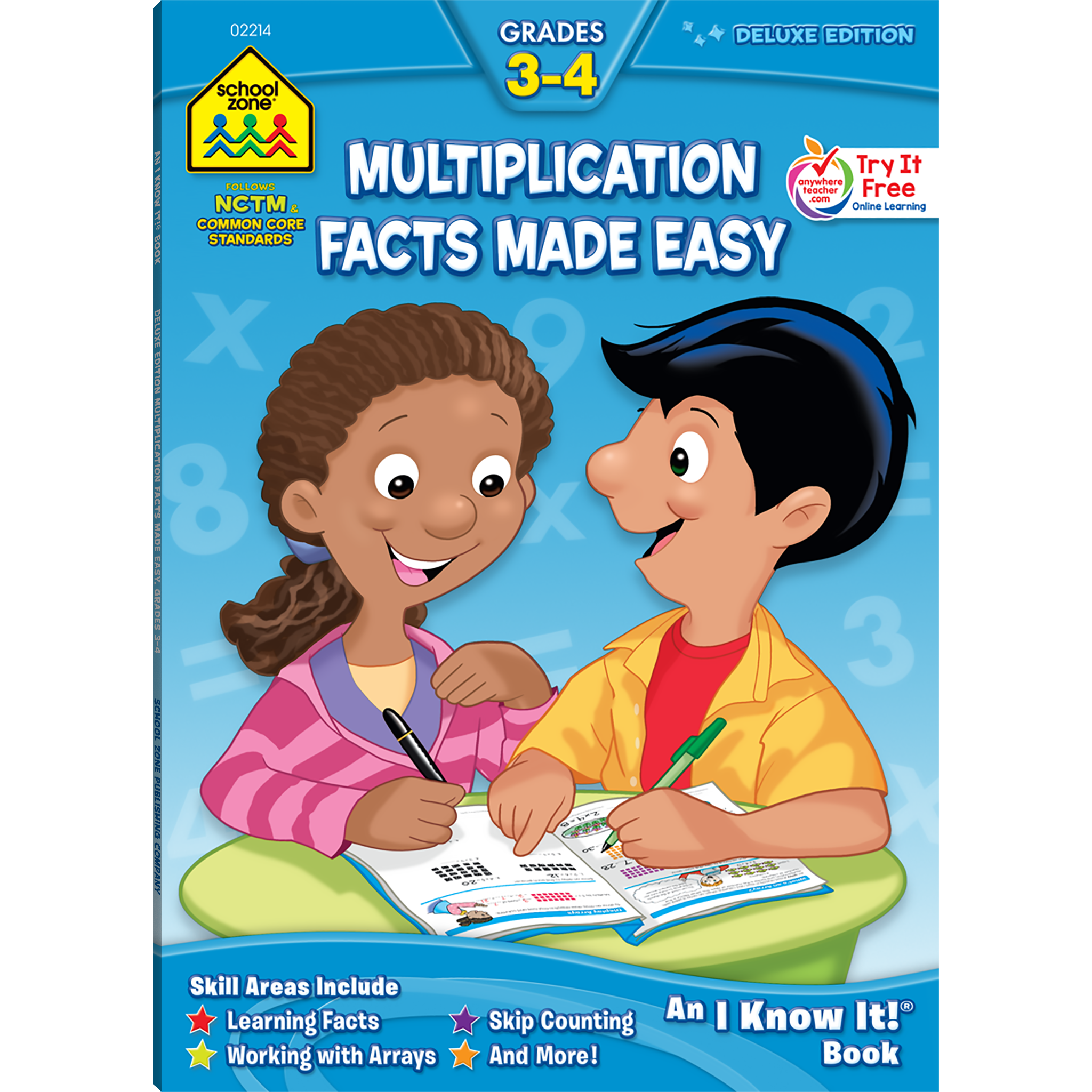 Facts made easy deluxe. Multiplication clipart math magic