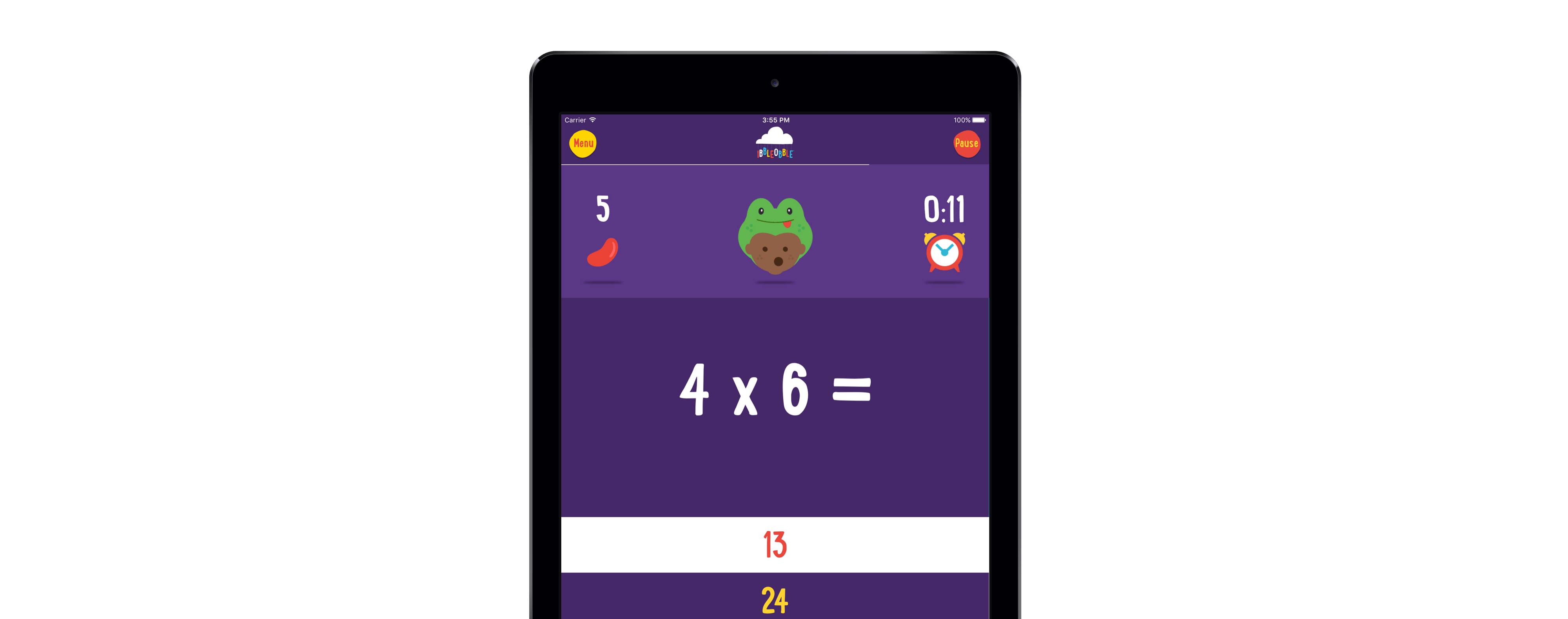 Multiplication clipart math magician. Times tables game for