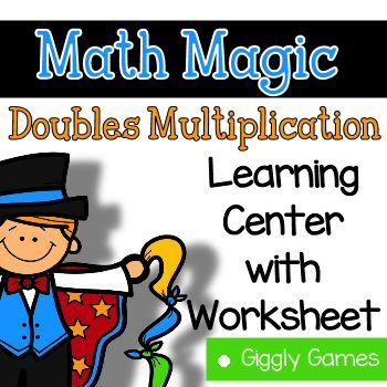 Multiplication clipart math magician. Giggly games magic doubles