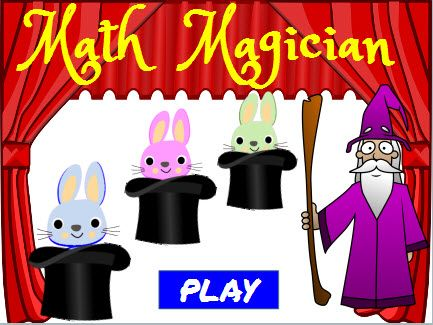 Game homeschool . Multiplication clipart math magician