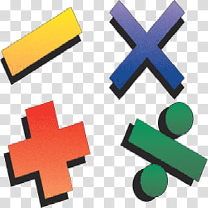 Multiplication clipart math operation. Subtraction division addition mathematics