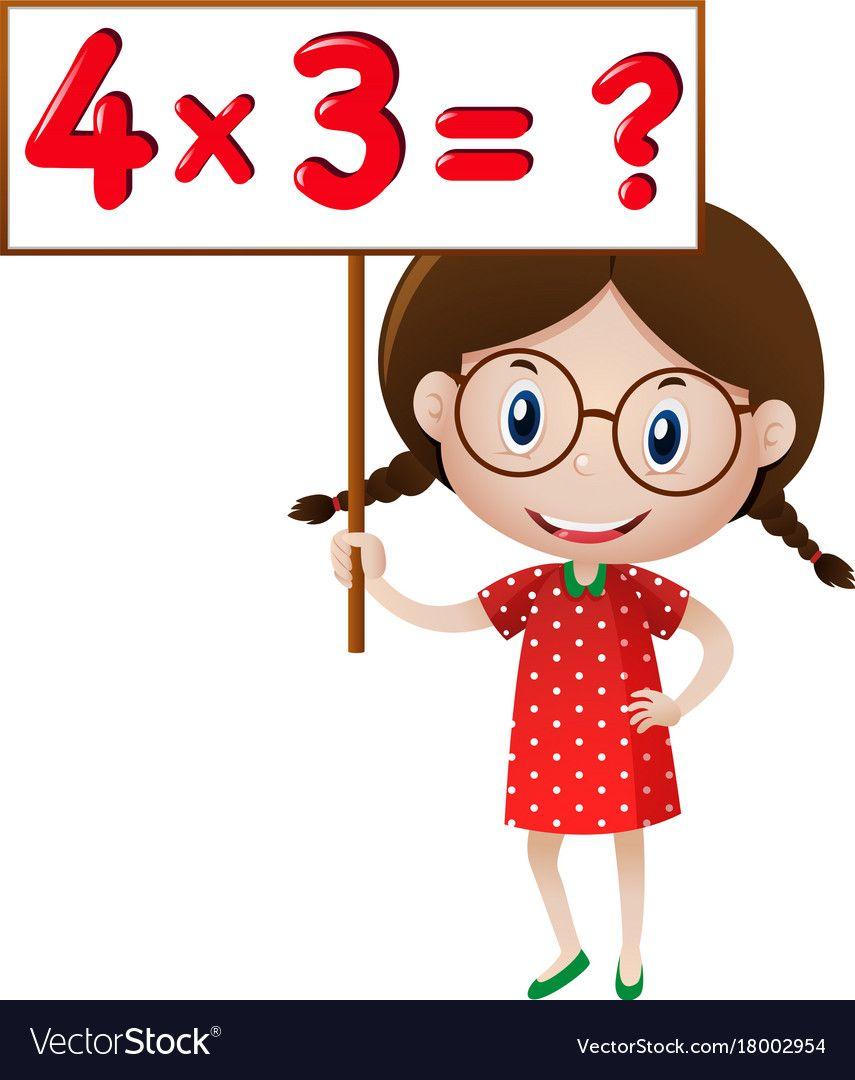 Multiplication clipart math question. Pin by ton wan