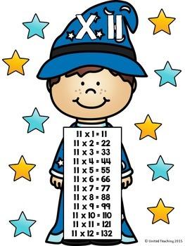 multiplication clipart math wizard