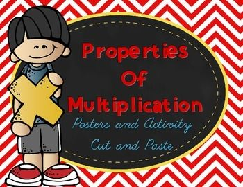 Properties of posters and. Multiplication clipart property multiplication