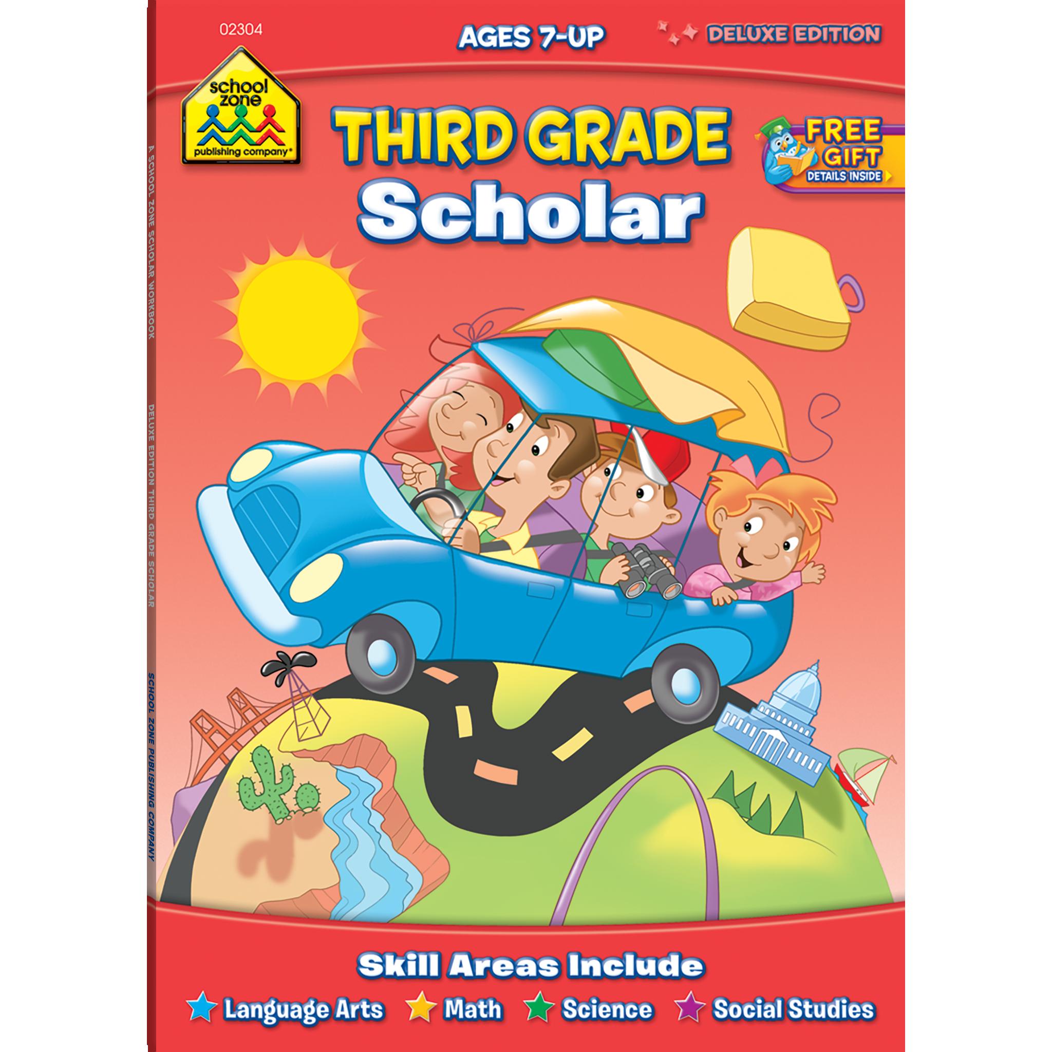 Third grade scholar deluxe. Multiplication clipart social study subject