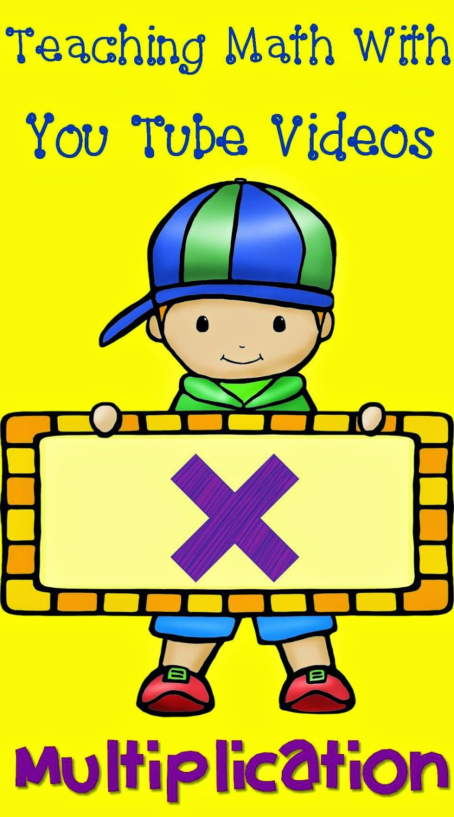 Multiplication clipart teaching math. The elementary maniac with
