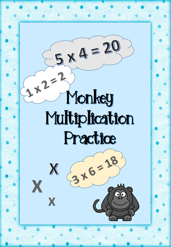 Multiplication clipart test booklet. And division sample