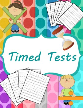 Multiplication clipart timed test. Addition subtraction and division