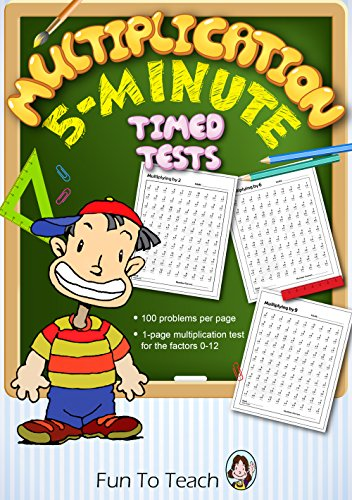 multiplication clipart timed test