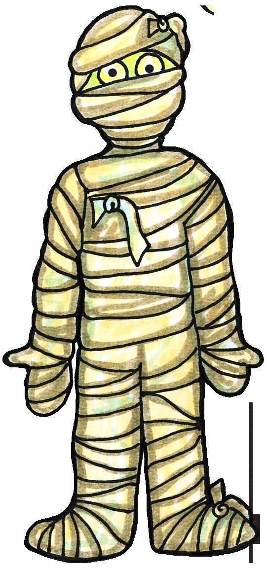 Mummy clipart. Halloween