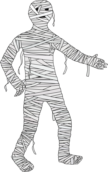 Animated . Mummy clipart