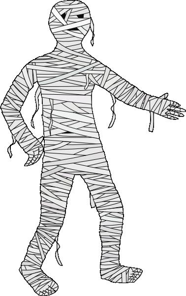 Mummy clipart. Animated