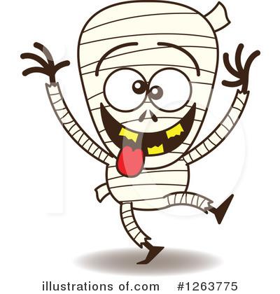 Mummy clipart. Illustration by zooco royaltyfree