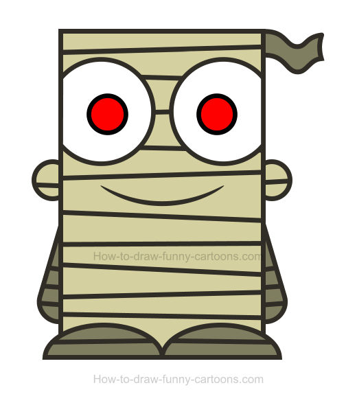 Png how to draw. Body clipart mummy