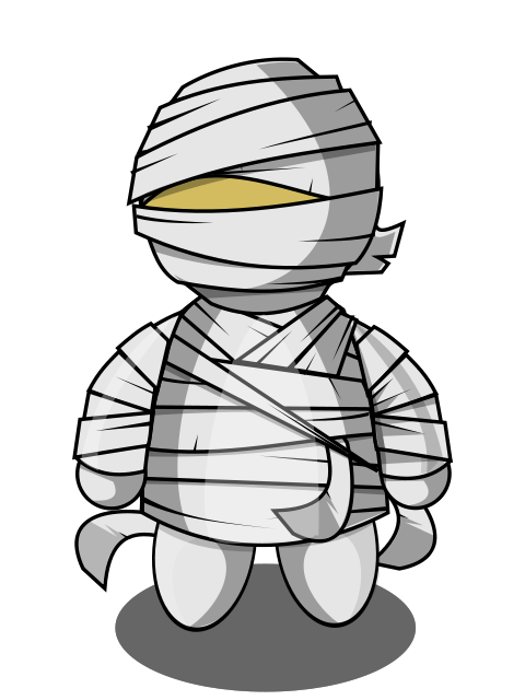 Clipart halloween mummy. Transparent png stickpng people