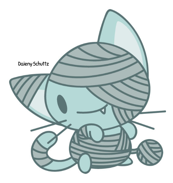 Cat by daieny on. Mummy clipart chibi