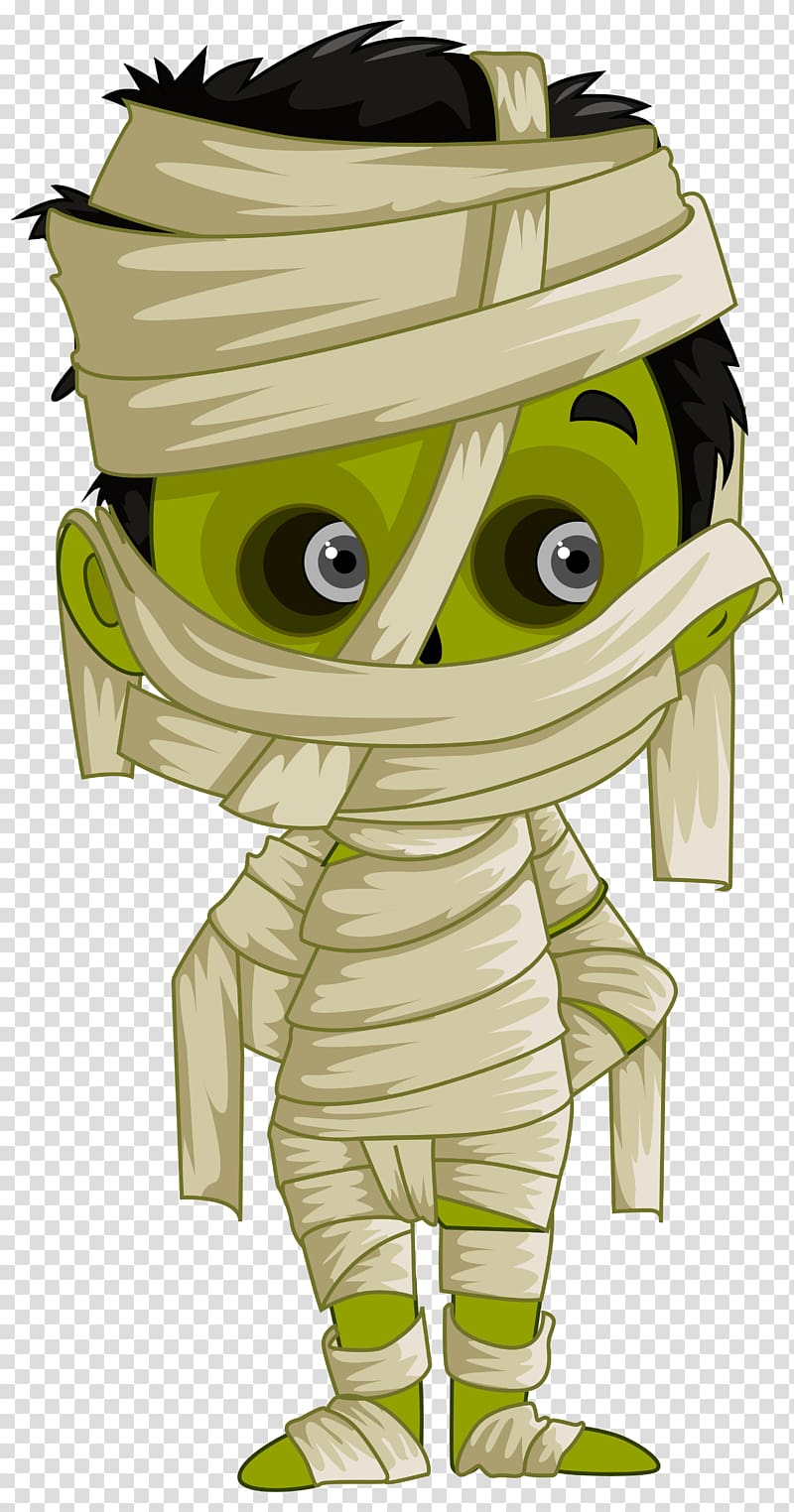 Youtube transparent background png. Mummy clipart cute halloween character