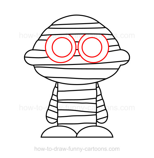 How to a . Mummy clipart draw