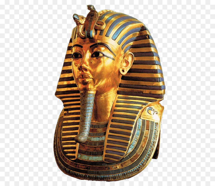 Gold background metal transparent. Mummy clipart egyptian mask