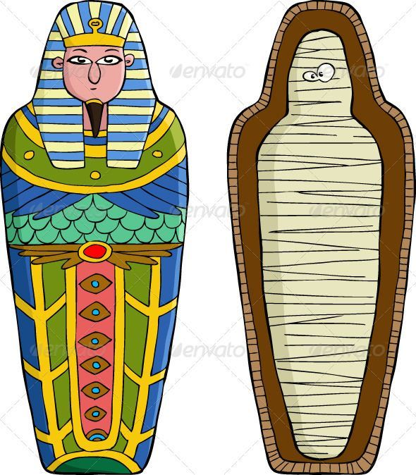 Image result for cartoon. Mummy clipart mummy case