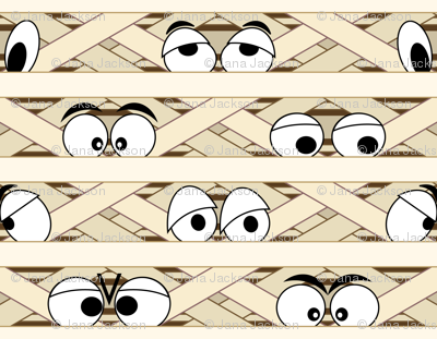 Mummy clipart mummy wrap. Wallpaper jjtrends spoonflower